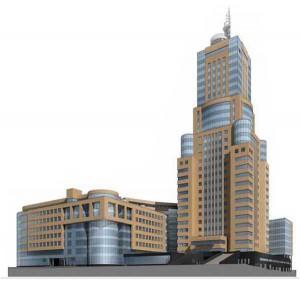 крупный бизнес центр