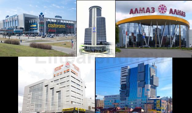 5 лучших офисных центров страны.
