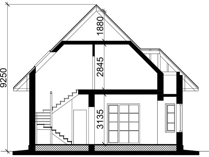 План этажей дома.