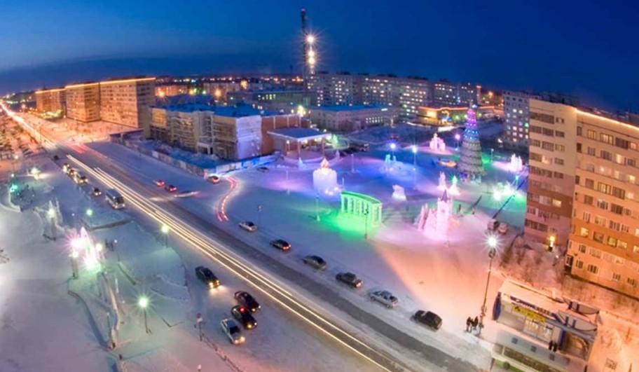 Новый Уренгой - самый богатый город России.