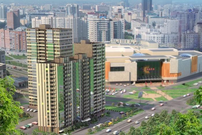 Спрос на однокомнатные квартиры занимает половину рынка.