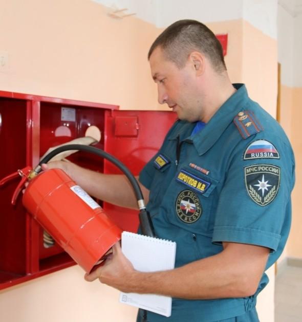Какой документ должен регламентировать действия при пожаре